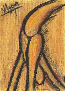 Σκίτσο 5185 Ν. Λυγερός - Danseuse de Rodin