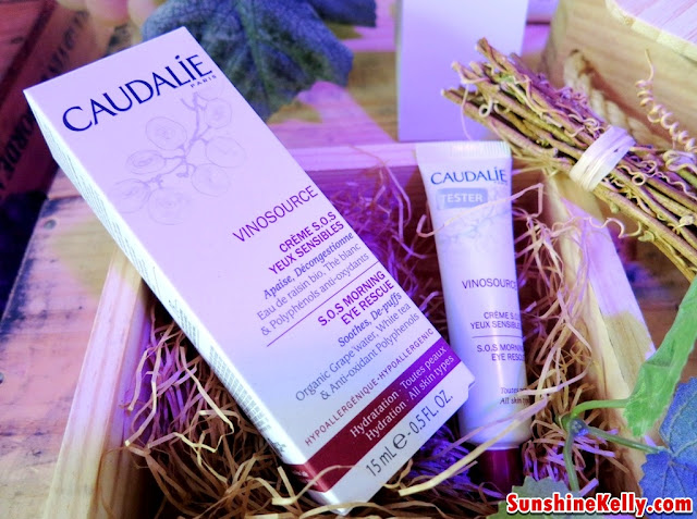 Caudalie Vinosource S.O.S Eye Morning Rescue