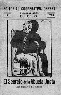 Imagen de la portada de El secreto de la abuela Justa