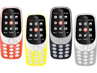 yaitu handphone nokia seri yang terkenal di tahun  Nokia 3310 2017 Terbaru, Spesifikasi dan Harga. Mau Bernostalgia? Silakan Ambil