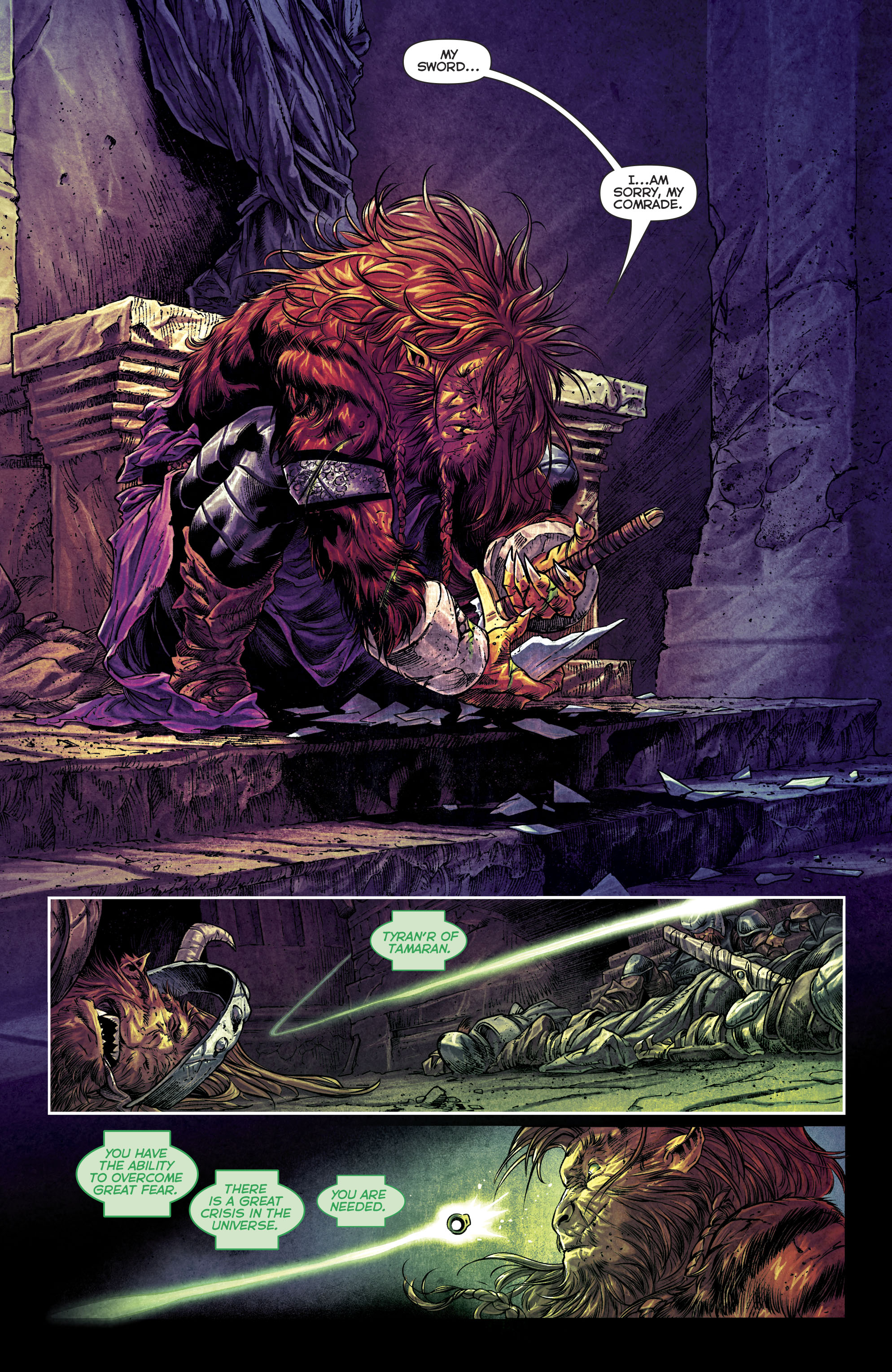 Read online Green Lanterns comic -  Issue #25 - 11