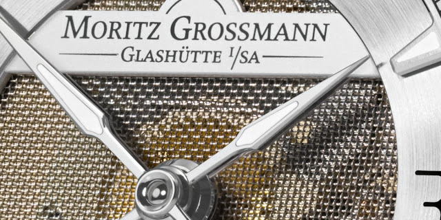 Moritz Grossmann - ATUM Pure M dial detail