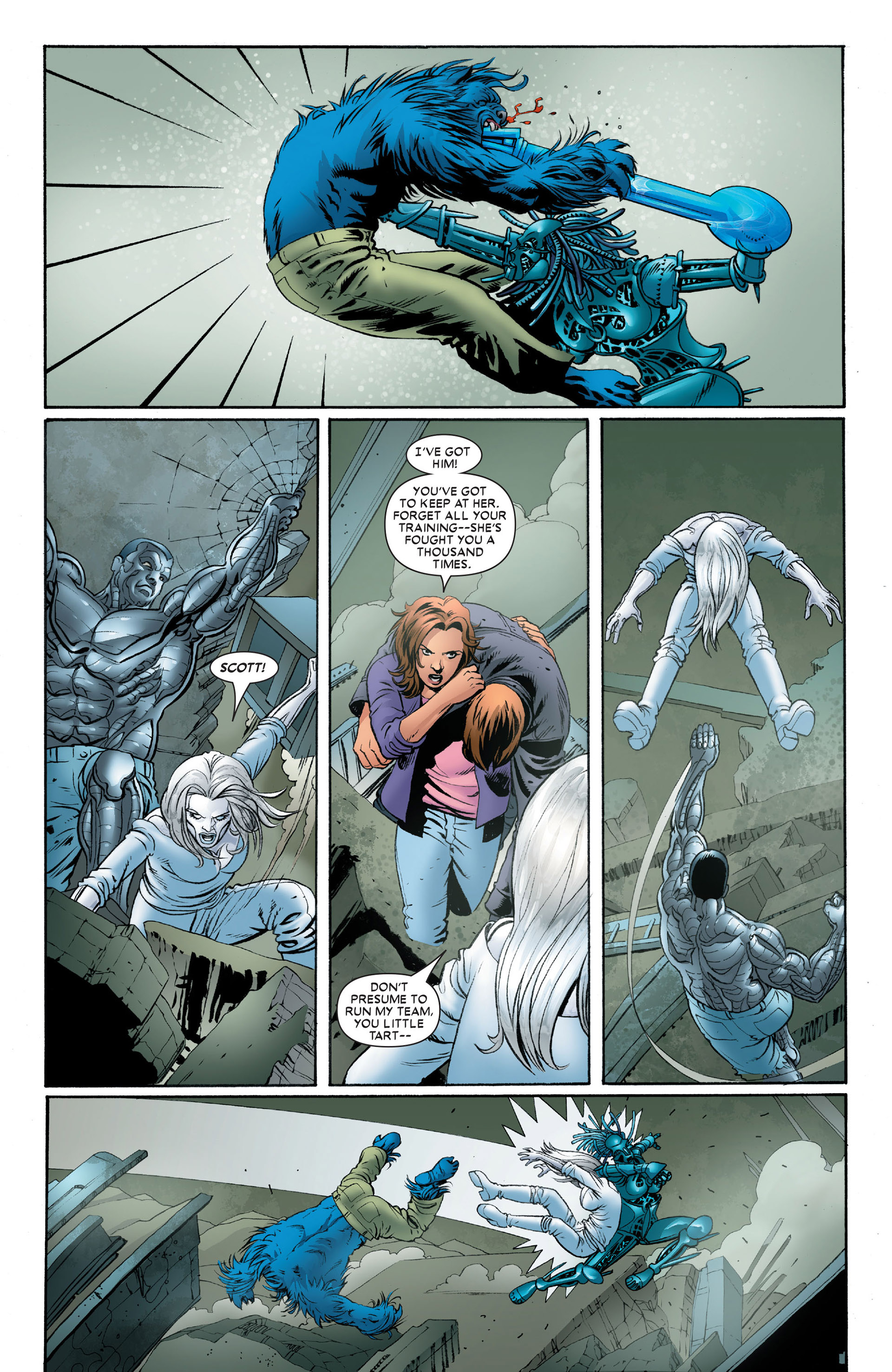 Read online Astonishing X-Men (2004) comic -  Issue #10 - 17