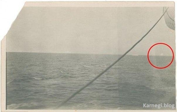 Фотография айсберга, который потопил Титаник