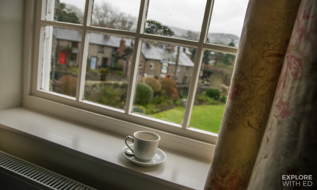 Cup of tea by the window