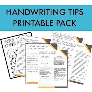 Handwriting Printable Pack