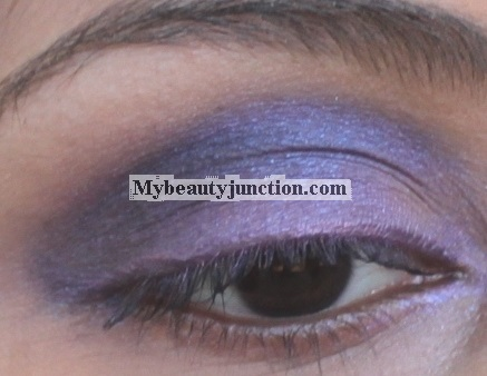 EOTD: Radiant orchid smoky eye makeup look with  theBalm