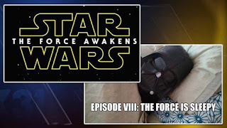 Star Wars the Force is Sleepy