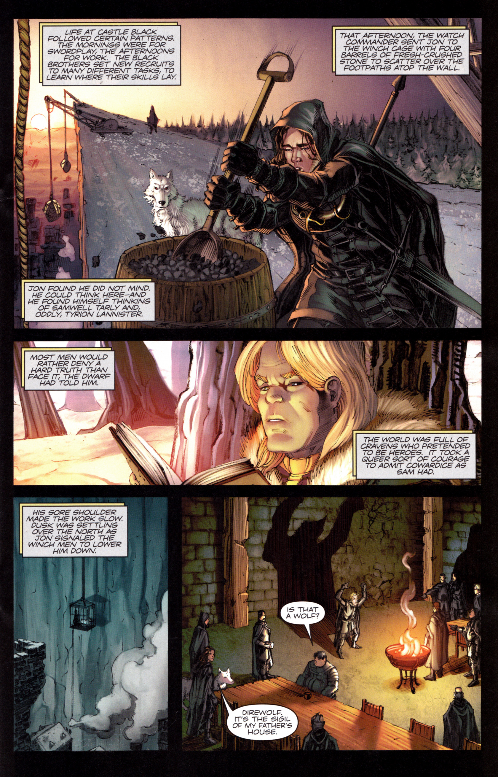 Read online A Game Of Thrones comic -  Issue #8 - 17