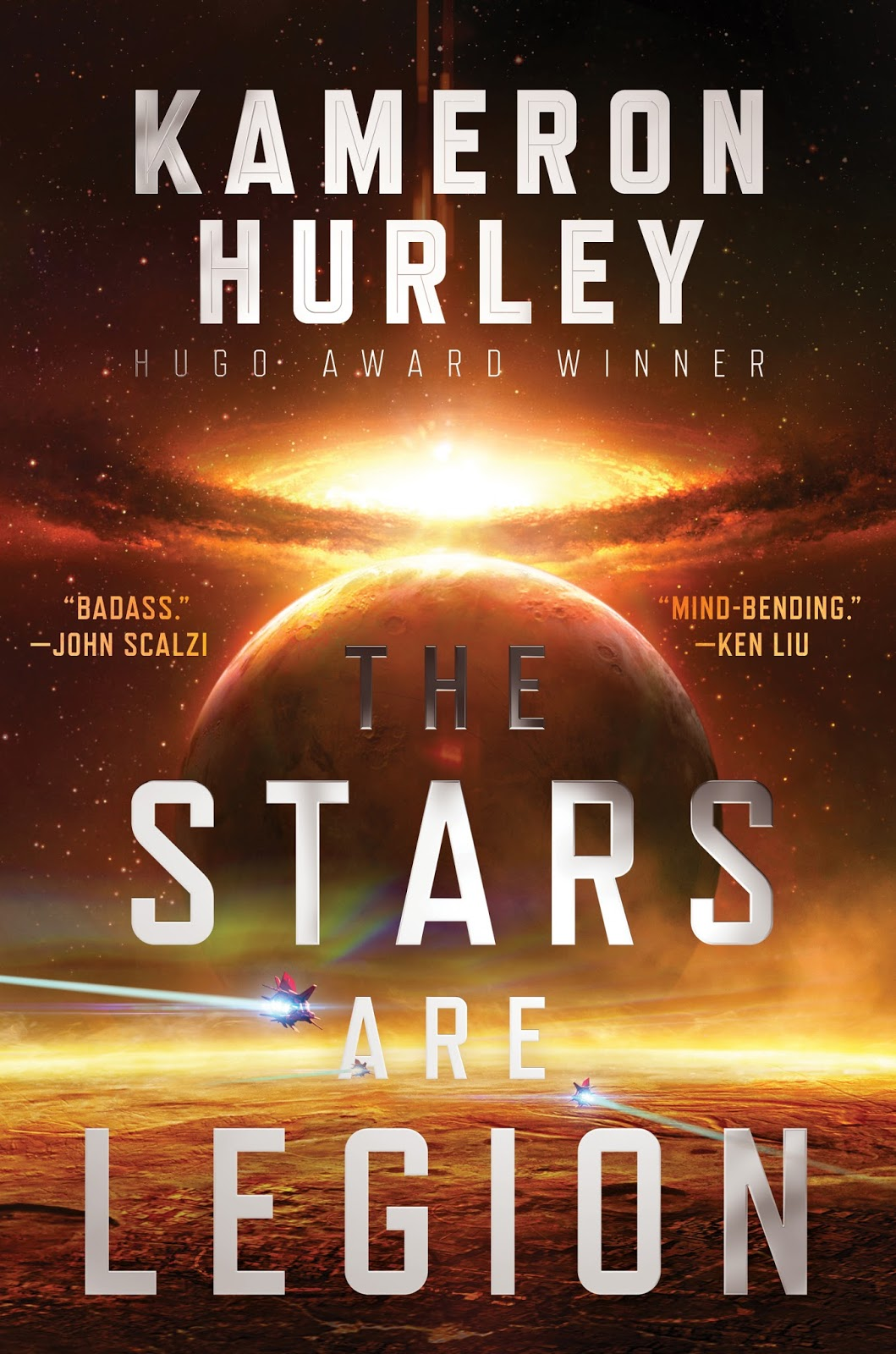 A stunning redefinition of space opera filled with high action and  adventure.