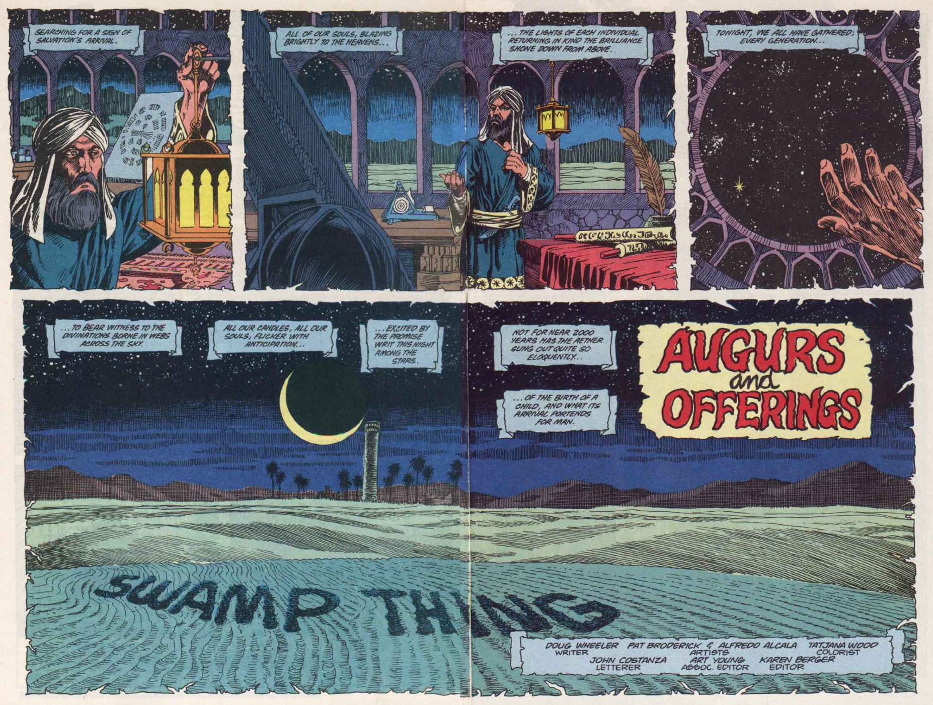 Swamp Thing (1982) Issue #91 #99 - English 3