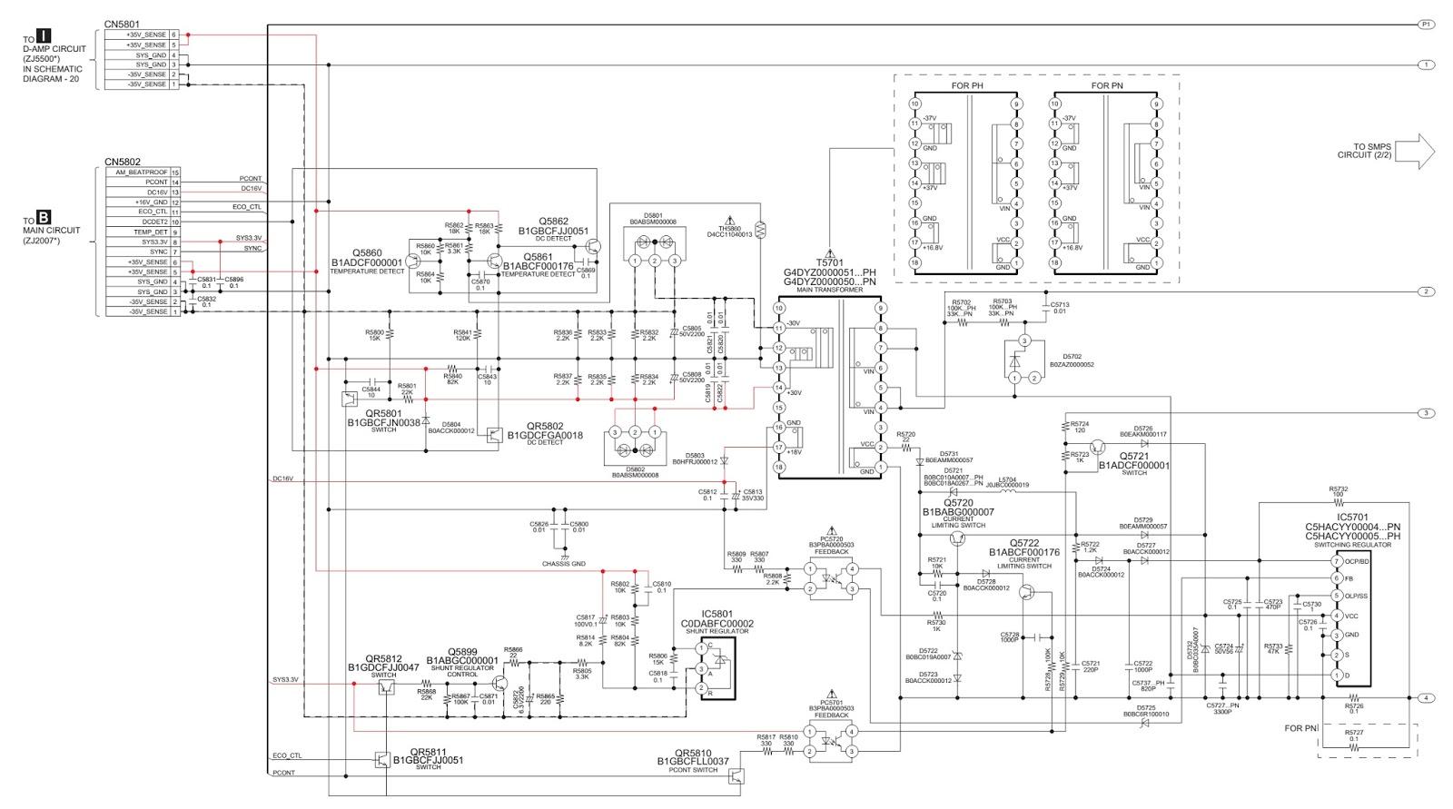 panasonic sc akx52lb schematic circuit diagram smps. Black Bedroom Furniture Sets. Home Design Ideas