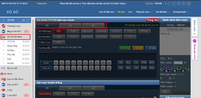 hướng dẫn chơi xổ số trực tuyến