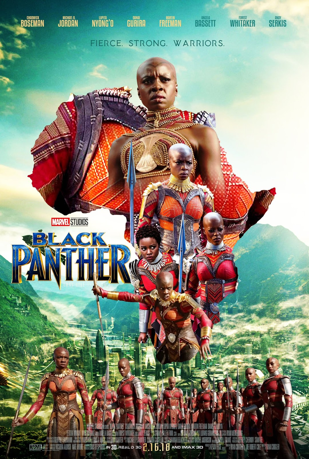 """These """"Black Panther"""" Fan Movie Posters Are Everything ..."""
