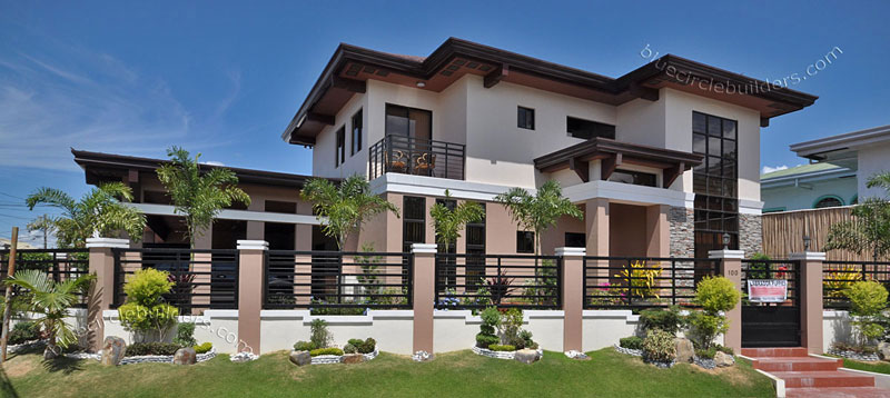 Tropical Inspired With Pool Residential 36 BF Homes ...
