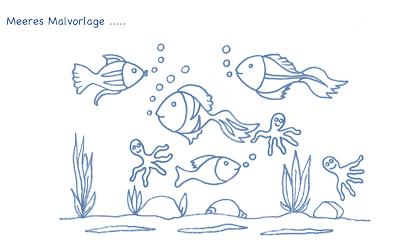 malvorlagen unterwasserwelt iphone