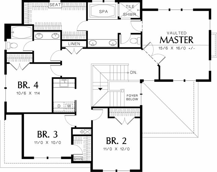 Mẫu thiết kế biệt thự cổ điển 2 tầng 177m2- 6