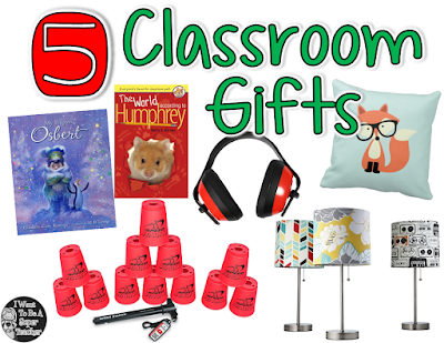 "Looking for a simple gift you can get for your class of elementary students? From free printables, to DIY, to Amazon Prime-ing something to your school last minute, you can find the perfect easy ""student from teacher"" gift with these 5 simple student gift ideas. #christmas #christmasgifts #studentgifts #free #amazon #amazonprime #freeprintables"