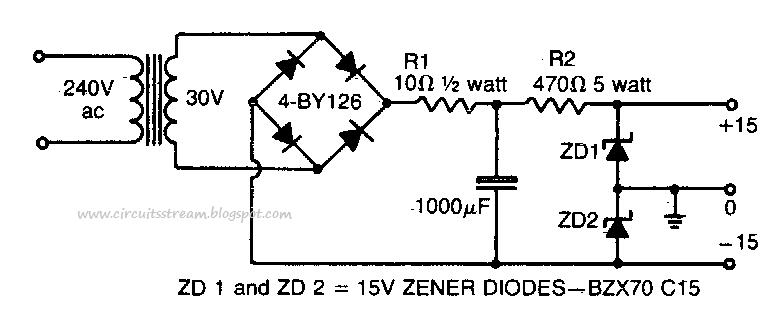 circuit diagram 15v dc power supply the wiring diagram dual polarity power supply circuit diagram nodasystech wiring diagram