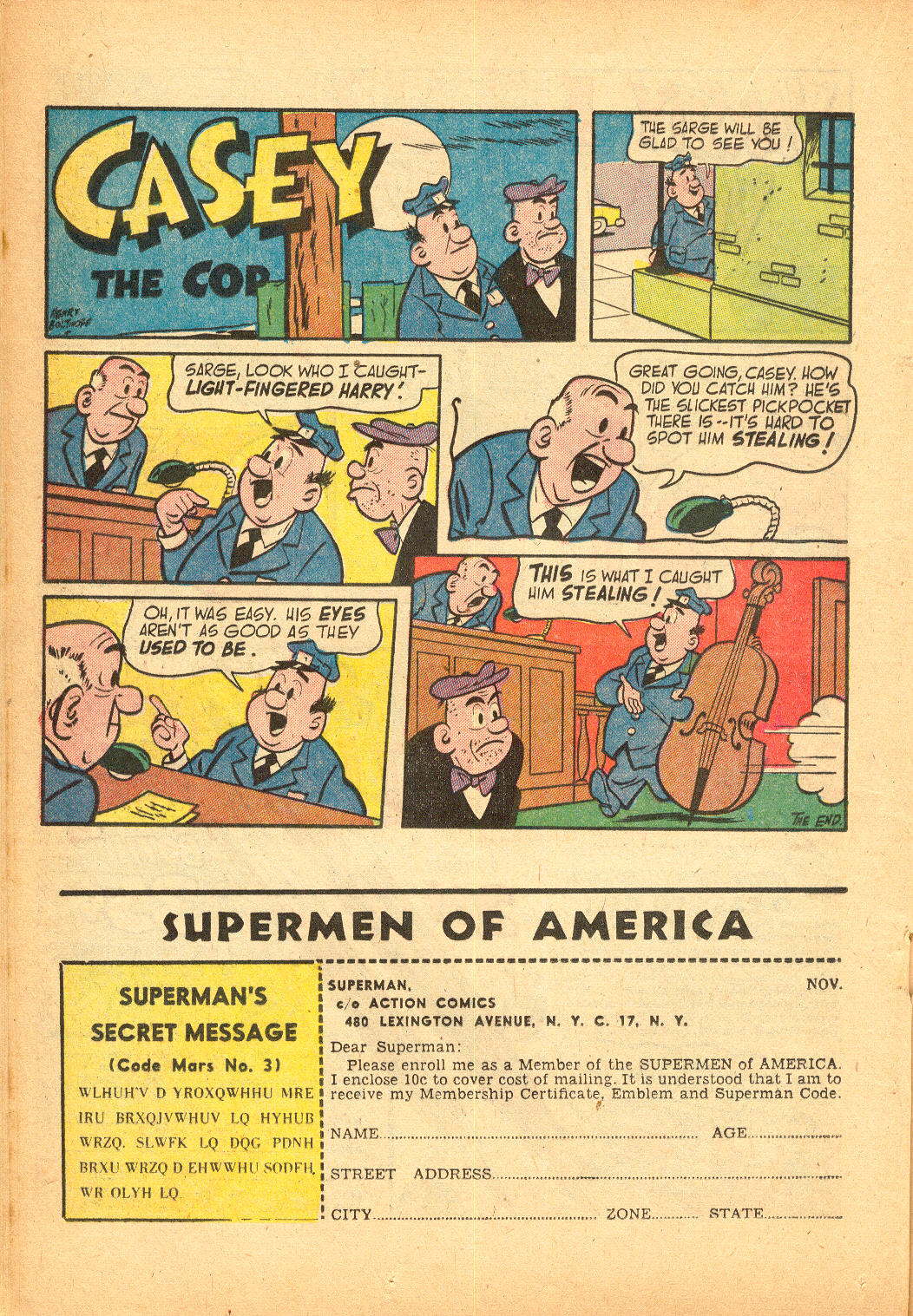 Read online Action Comics (1938) comic -  Issue #174 - 24