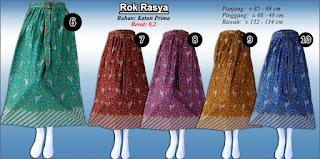 Rok batik anak perempuan murah meriah edisi hari raya