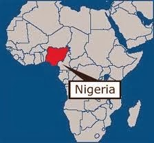 Map Of Africa With Nigeria Highlighted A Block '14: Maps of Africa and Nigeria