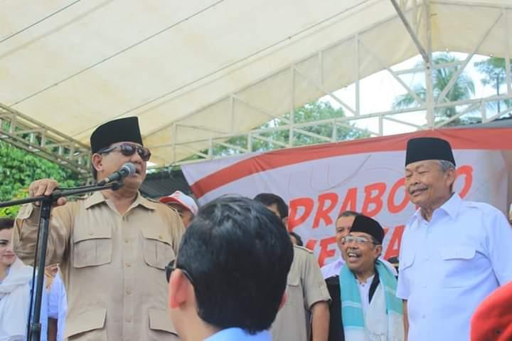 Prabowo Disambut Seperti Ini di Jawa, Banteng Makin Panik