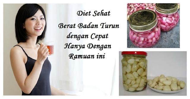 Obat Diet MAHAL !! Coba Ramuan Bahan Dapur Ini Untuk Turunkan Berat Badan Secara Alami.. Perhatikan Cara Meraciknya...