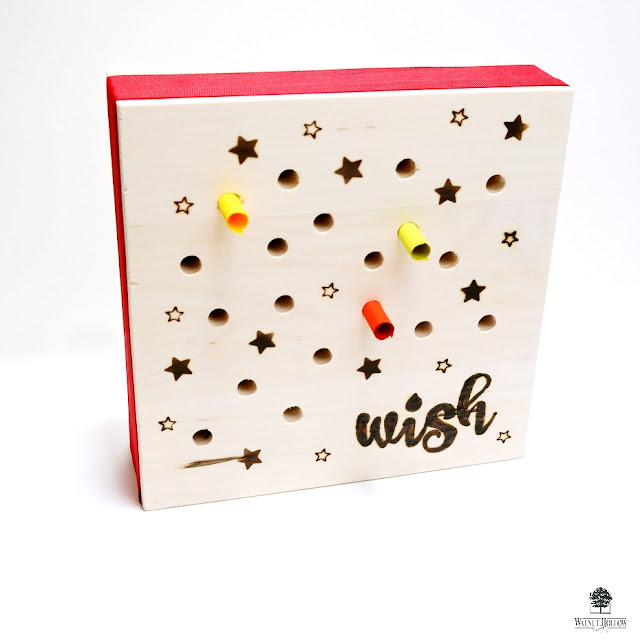 Box of Wishes by Dana Tatar for Walnut Hollow