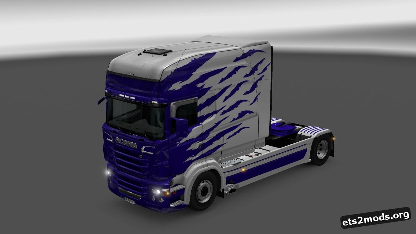 Scania RJL Clarke Skin