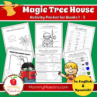 La Casa del Arbol Activity Packet from MommyMaestra