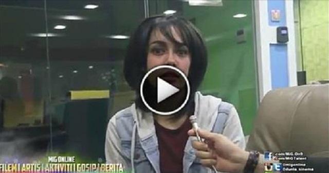 Video Temubual Dengan Uqasha Senrose Isu Buka Hijab