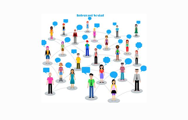 Integrasi sosial adalah penyatuan dua atau lebih unsur sosial menjadi satu kesatuan utuh  Integrasi Sosial : Pengertian, Proses, Faktor, Syarat, Bentuk