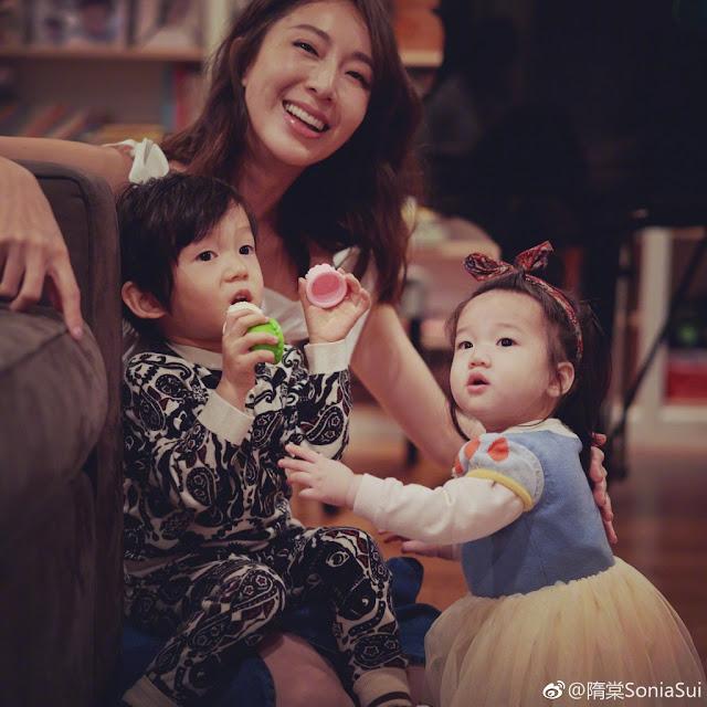 Sonia Sui 3 kids
