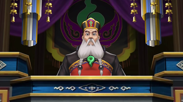 Kingdom of Kurain new judge Ace Attorney 6