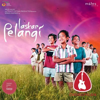 Lirik dan chord Laskar Pelangi - Nidji