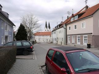 Trasse der ehemaligen Römerstraße in Markt Indersdorf