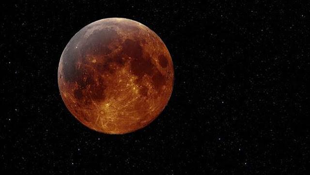 Siap-siap! Hari Ini Gerhana Bulan Super Blood Wolf Moon