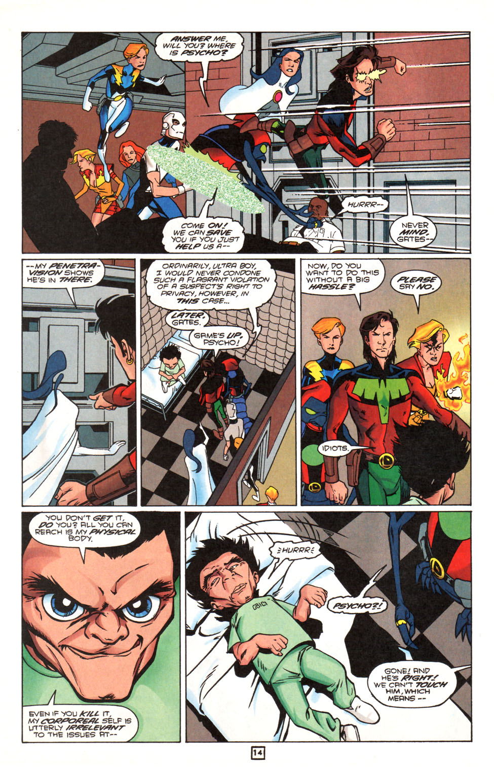 Legion of Super-Heroes (1989) 90 Page 14