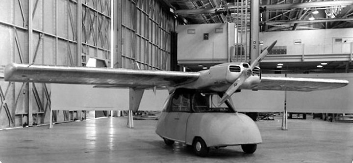 Летающий автомобиль |ConvАairCar-116-118 Startup News www.startup.org.ua