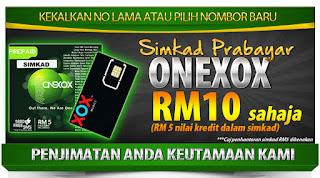 Pengalaman Bersama ONEXOX-Simkad ONEXOX