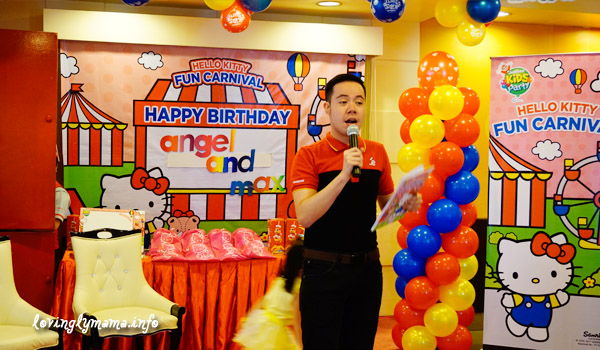 Jollibee Kids Party - Hello Kitty Fun Carnival Theme - Bacolod launch