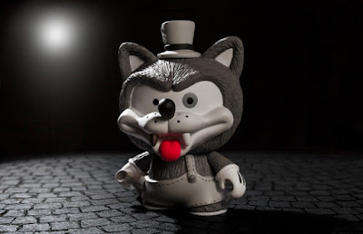 Willy the Wolf Vinyl Figure by Shiffa x Kidrobot