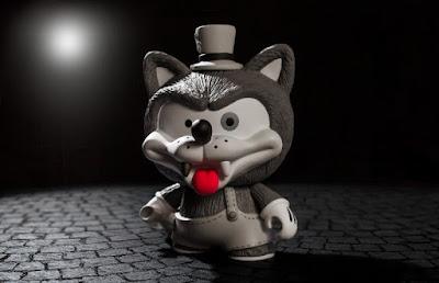 Willy the Wolf Vinyl Figure by Shiffa x Kidrobot
