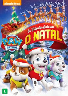 Paw Patrol: Os Filhotes Salvam o Natal - DVDRip Dublado