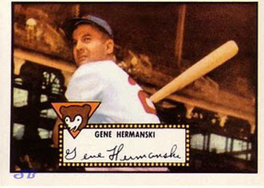 Vintage Cubs Cards The 1952 Topps Baseball Card Set Is The Most
