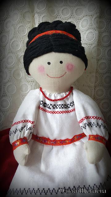 грелка на чайник, баба на чайник, в украинском стиле, украинка