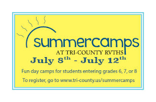 Tri-County Regional Opens Summer Camp Registration