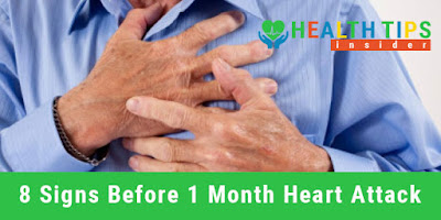 8 Important Signs That Warns Your Body for 1 Month Before Heart Attack Must Read