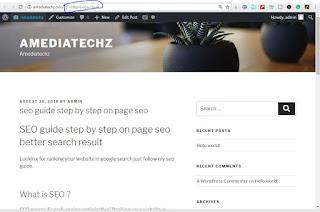 Post Blog URL